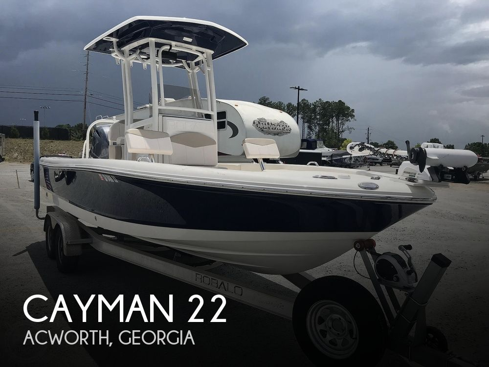 Used Ski Boats For Sale in Georgia by owner | 2017 Cayman 22