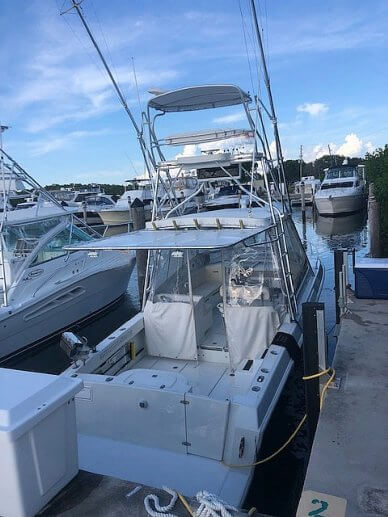 Contender 35 Side Console, 35, for sale - $63,500