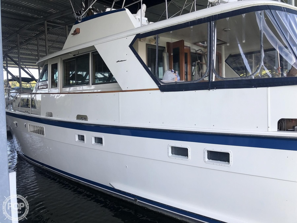 1977 Hatteras boat for sale, model of the boat is 53 & Image # 12 of 40