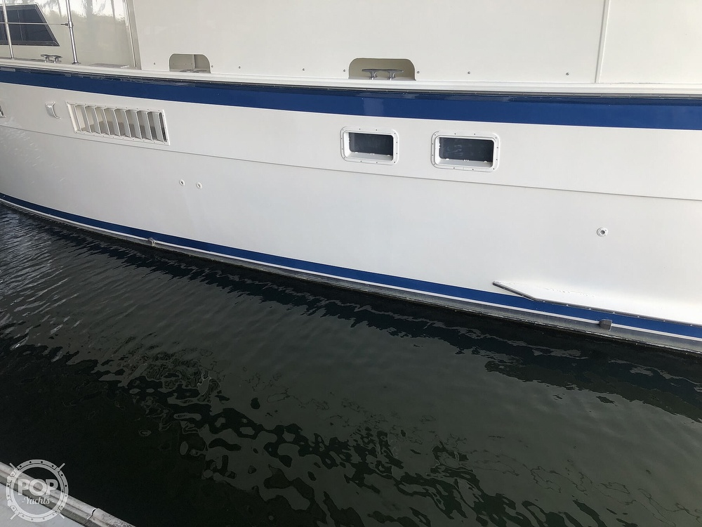 1977 Hatteras boat for sale, model of the boat is 53 & Image # 19 of 40