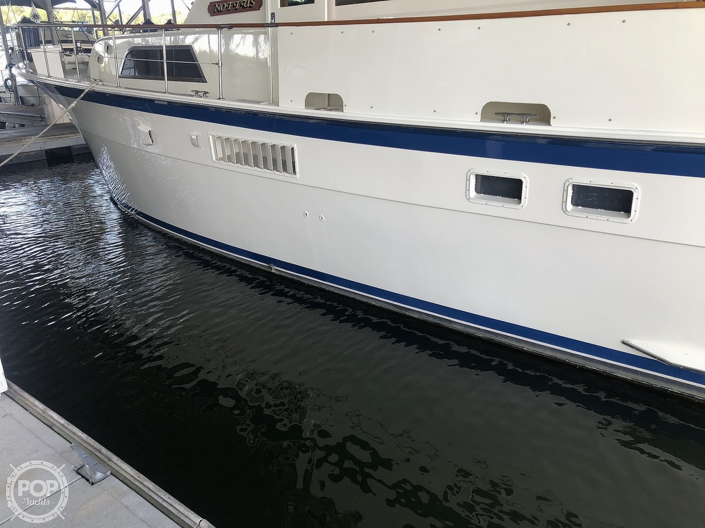 1977 Hatteras boat for sale, model of the boat is 53 & Image # 20 of 40