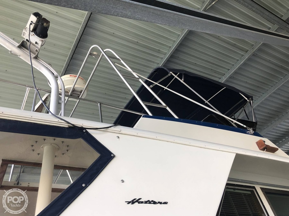 1977 Hatteras boat for sale, model of the boat is 53 & Image # 36 of 40