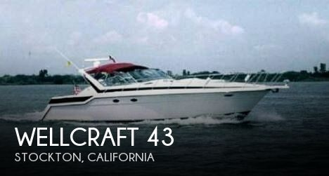Used Boats For Sale in Merced, California by owner | 1988 Wellcraft 43