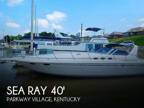 Used Boats For Sale in Louisville, Kentucky by owner | 1994 Sea Ray 40