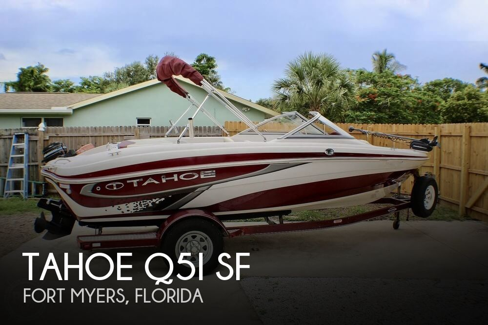 2011 Tahoe boat for sale, model of the boat is Q5i SF & Image # 1 of 40