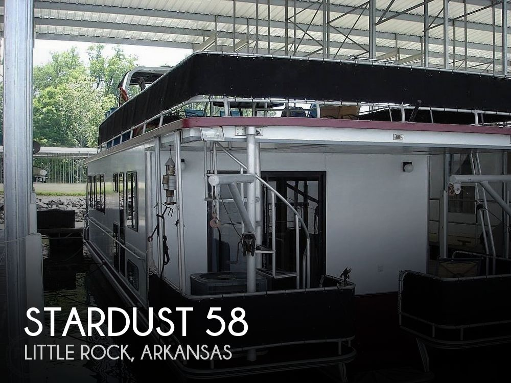 Used Houseboats For Sale in Arkansas by owner | 1995 Stardust 58