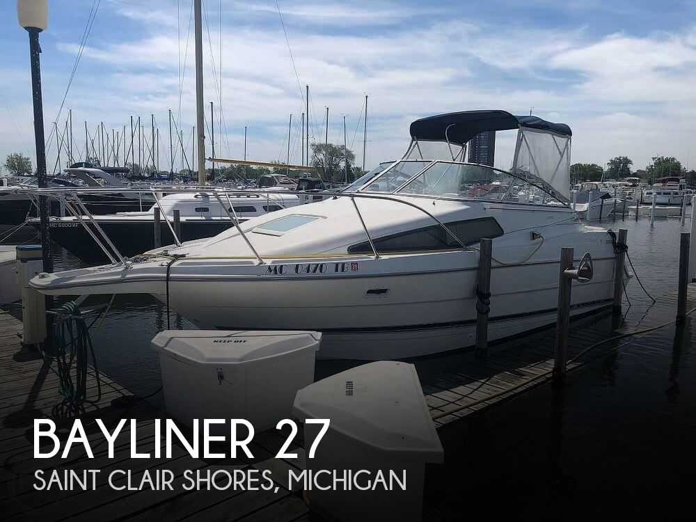 Used Bayliner Boats For Sale in Michigan by owner | 1999 Bayliner 27