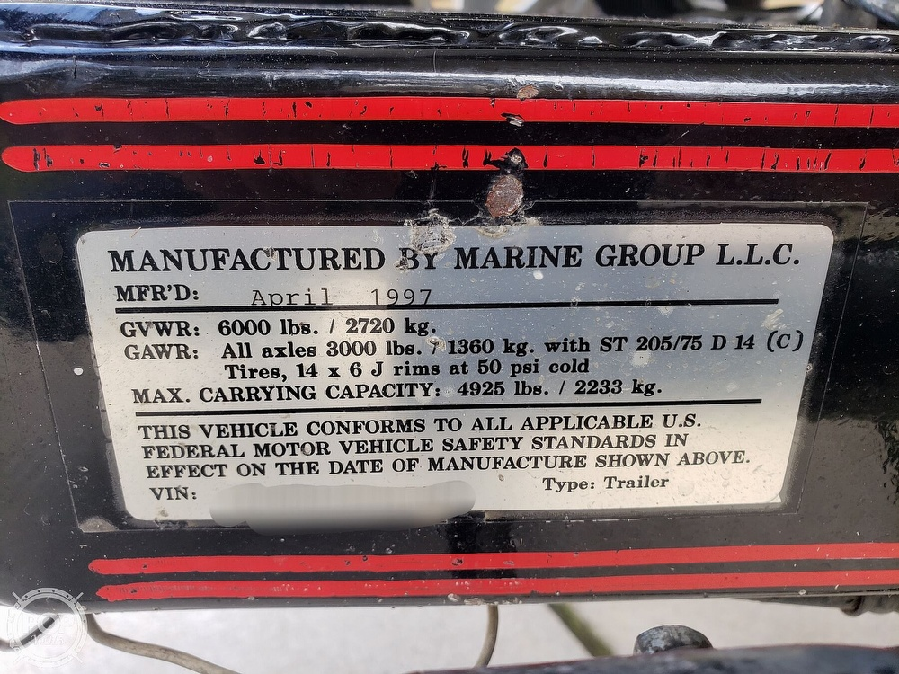 1997 Pro Craft boat for sale, model of the boat is 205 PRO & Image # 35 of 40