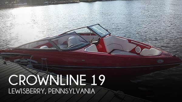 Used Crownline Boats For Sale in Lancaster, Pennsylvania by owner | 2011 Crownline 19