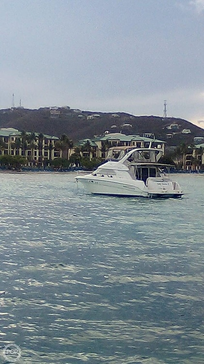 1999 Sea Ray boat for sale, model of the boat is 450 Express Bridge & Image # 27 of 41