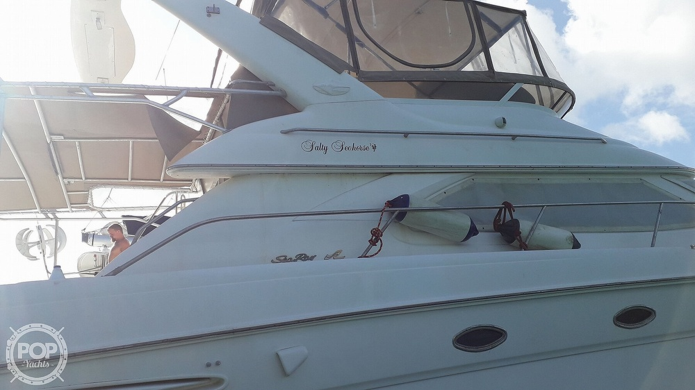 1999 Sea Ray boat for sale, model of the boat is 450 Express Bridge & Image # 28 of 41