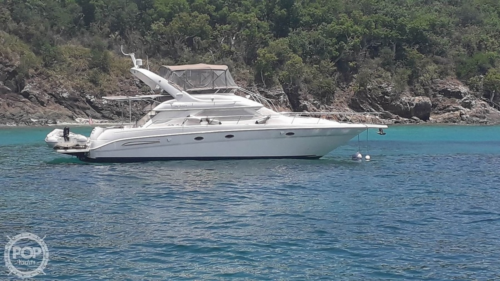 1999 Sea Ray boat for sale, model of the boat is 450 Express Bridge & Image # 32 of 41