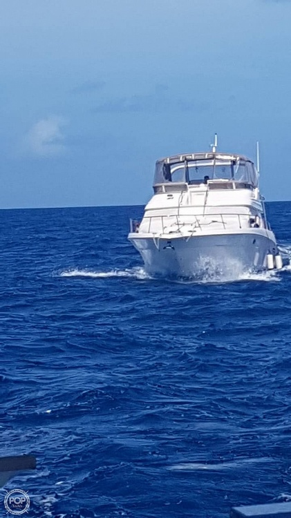 1999 Sea Ray boat for sale, model of the boat is 450 Express Bridge & Image # 33 of 41