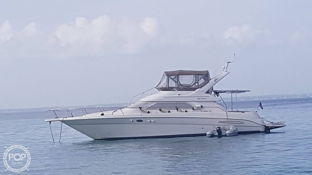 1999 Sea Ray boat for sale, model of the boat is 450 Express Bridge & Image # 35 of 41