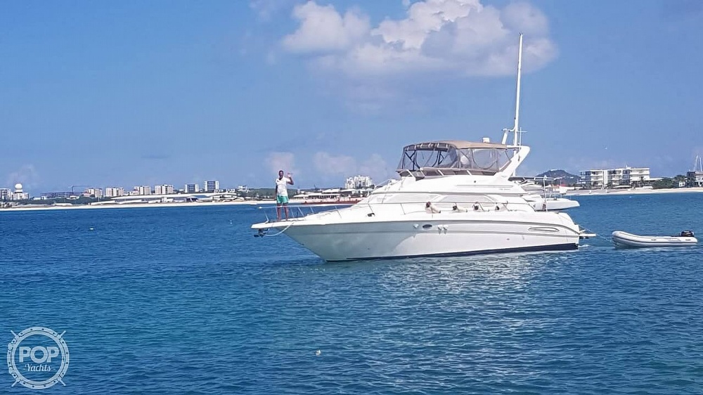 1999 Sea Ray boat for sale, model of the boat is 450 Express Bridge & Image # 38 of 41