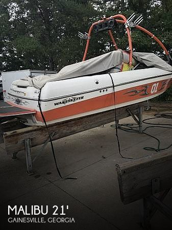 Used Ski Boats For Sale in Georgia by owner   2004 Malibu 21