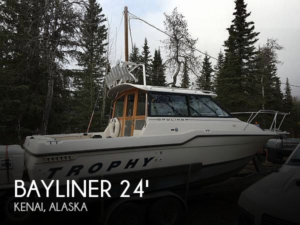 Used Boats For Sale in Anchorage, Alaska by owner | 1995 Trophy 24