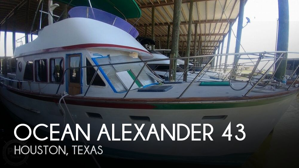1983 Ocean Alexander boat for sale, model of the boat is 43 & Image # 1 of 40