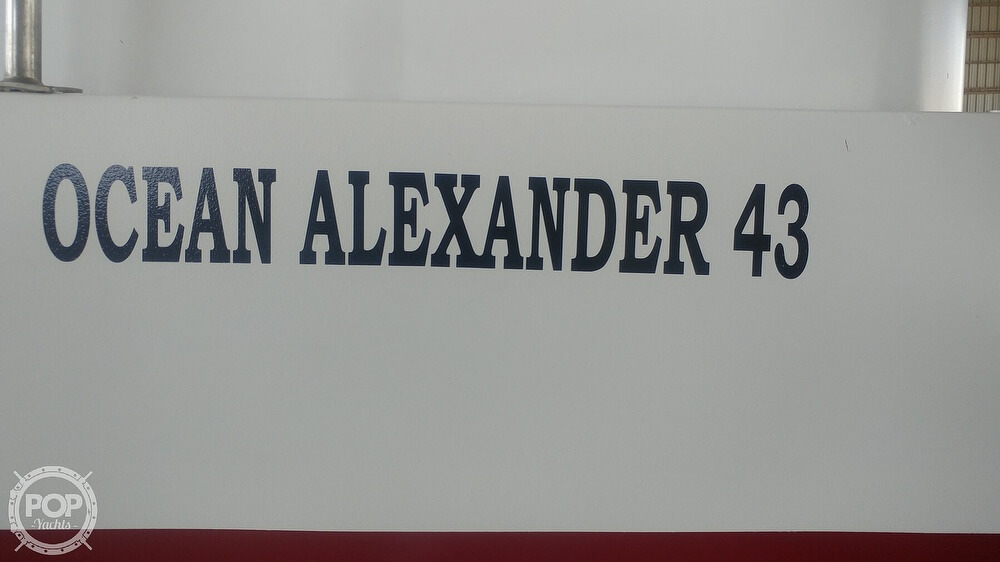 1983 Ocean Alexander boat for sale, model of the boat is 43 & Image # 38 of 40