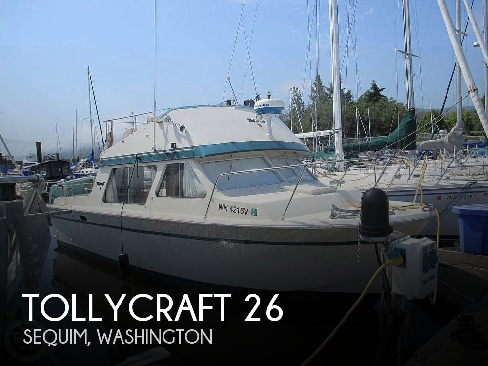 Used Tollycraft Boats For Sale in Washington by owner | 1973 Tollycraft 26