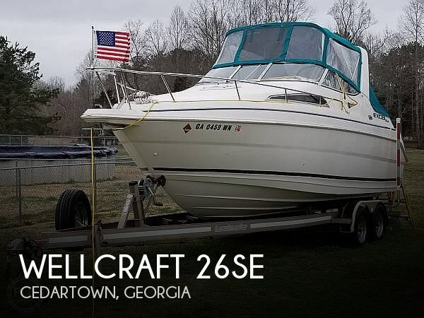 1997 Wellcraft boat for sale, model of the boat is 26SE & Image # 1 of 40