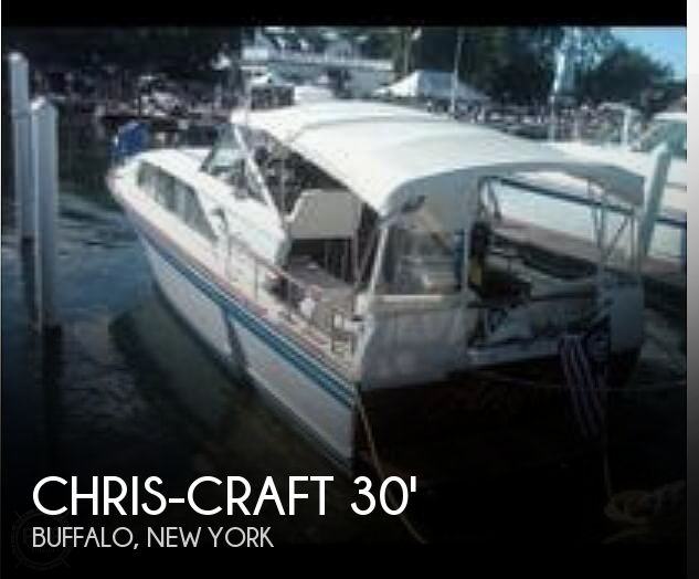 Used Chris Craft Power boats For Sale in Buffalo, New York by owner | 1965 Chris-Craft 30