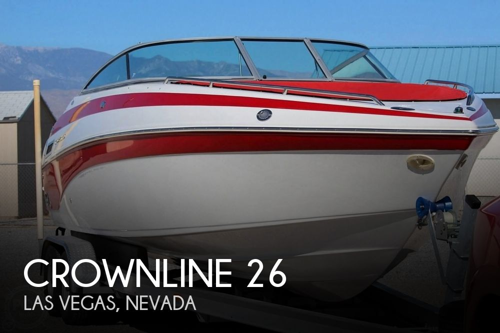 Used Power boats For Sale in Nevada by owner | 2003 Crownline 26