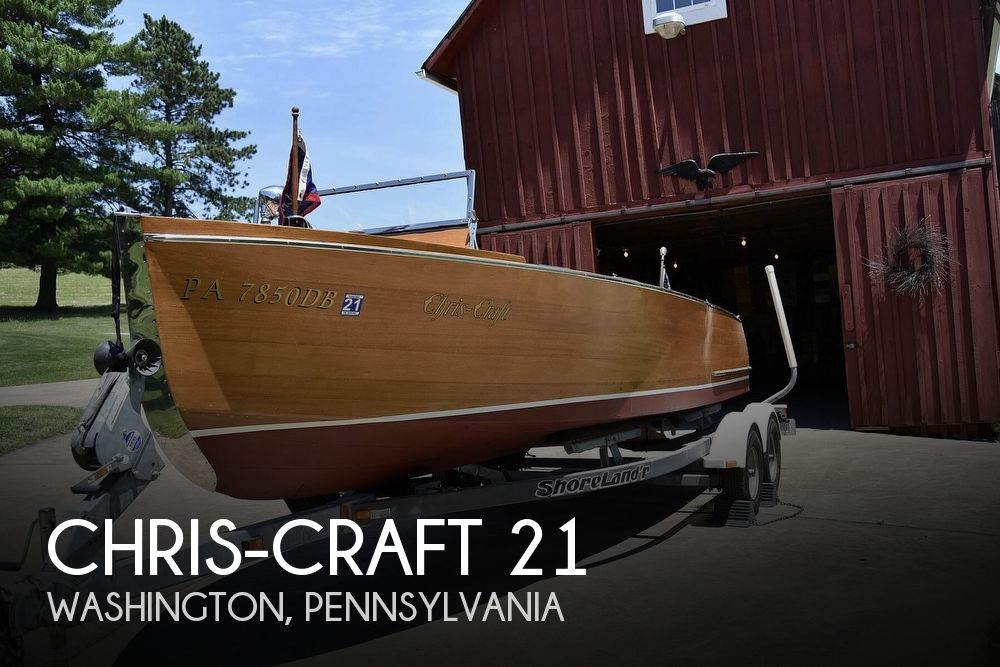 Used Boats For Sale in Pittsburgh, Pennsylvania by owner | 1936 Chris-Craft 21