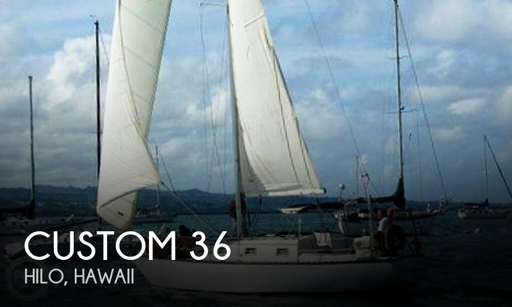 Used Boats For Sale in Hawaii by owner | 1978 Custom 36