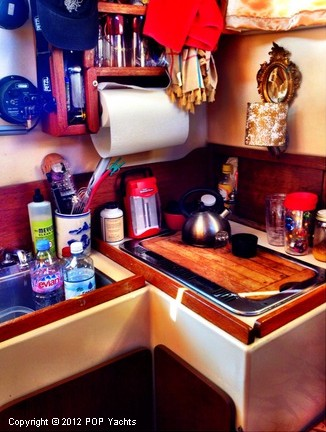 Galley - Small But Functional