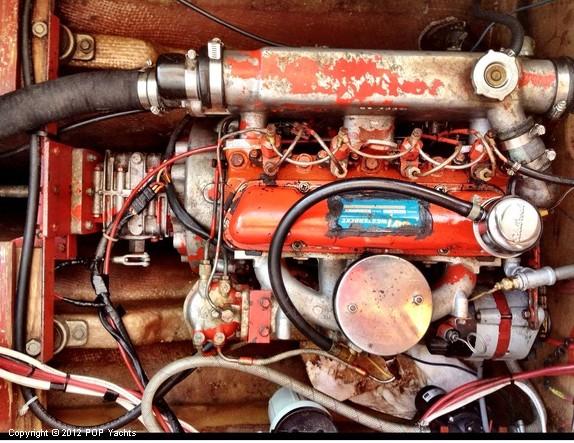 Westerbeke Engine