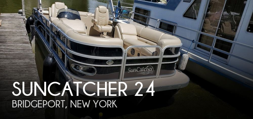 Used Boats For Sale in Utica, New York by owner | 2013 SunCatcher 24