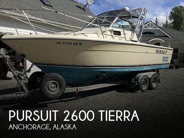 Used Boats For Sale in Anchorage, Alaska by owner | 1985 Pursuit 29