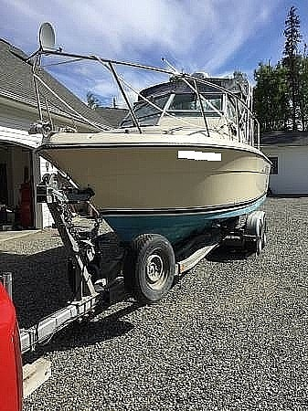 1985 Pursuit boat for sale, model of the boat is 2600 Tierra & Image # 12 of 13