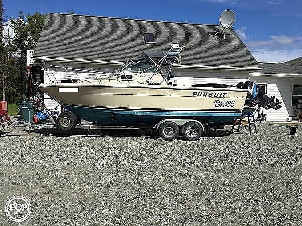 1985 Pursuit boat for sale, model of the boat is 2600 Tierra & Image # 2 of 13
