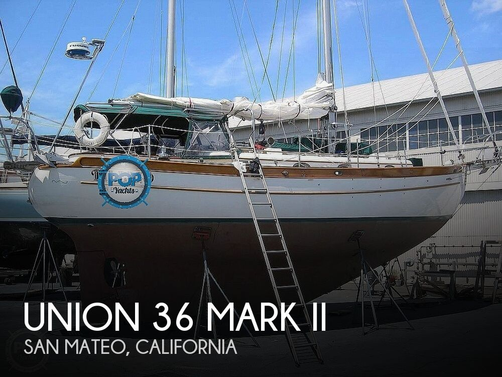 Used Boats For Sale in Santa Cruz, California by owner | 1988 Union 36 Mark II