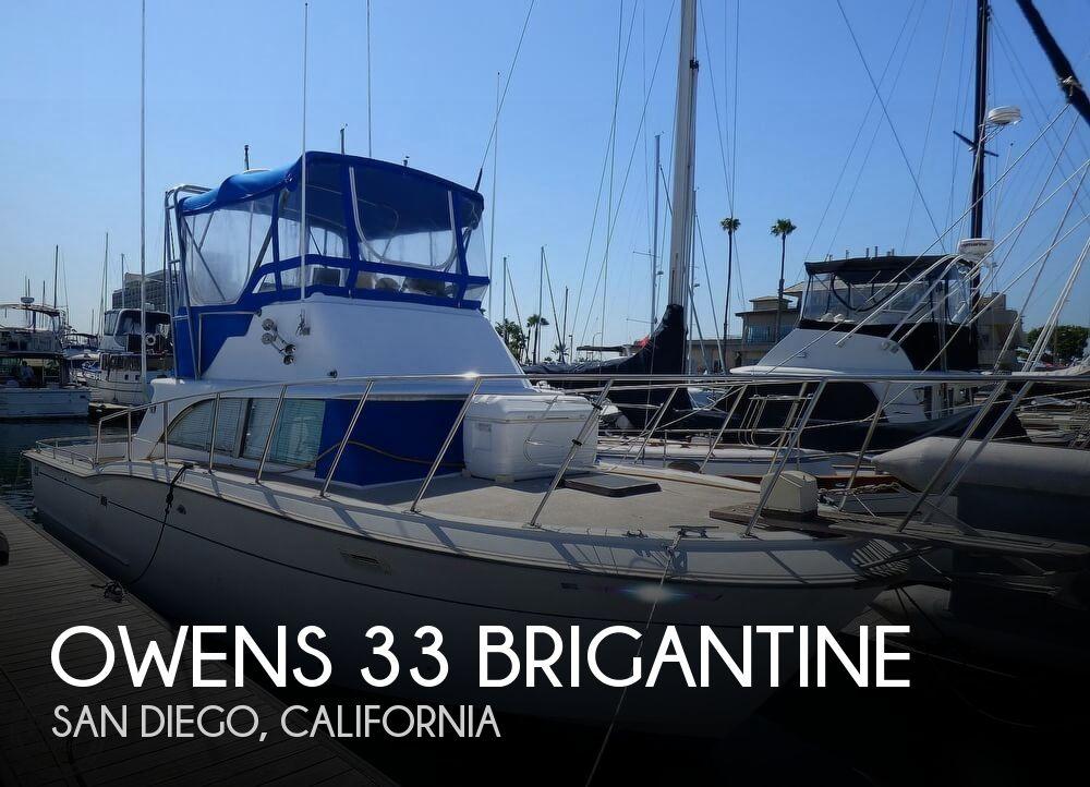 1967 Owens 33 Brigantine
