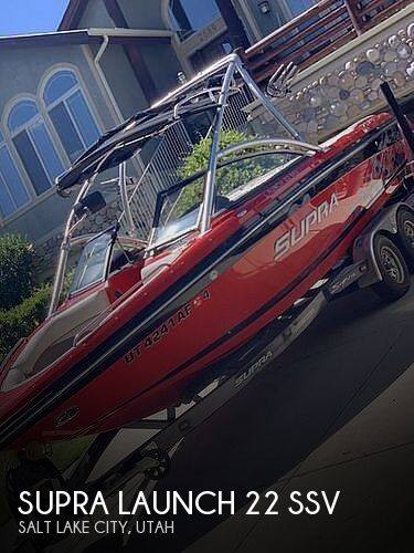 Used Boats For Sale in Ogden, Utah by owner | 2009 Supra Launch 22 SSV