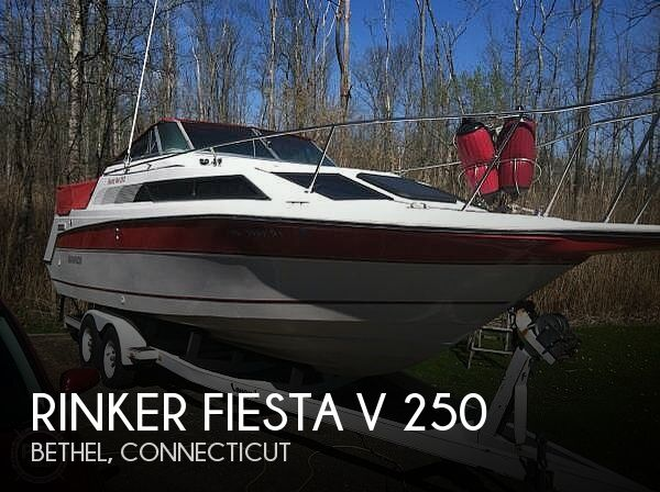 1990 RINKER FIESTA V 250 for sale