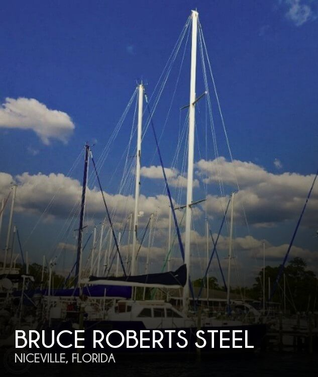 1998 Bruce Roberts Steel 43 Pilothouse For Sale