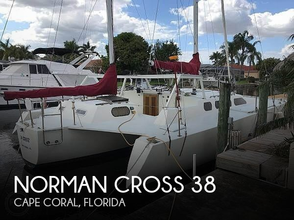 Used Sailboats For Sale in Cape Coral, Florida by owner | 2000 Norman Cross 38