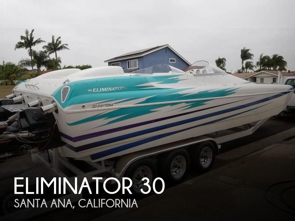 2004 Eliminator boat for sale, model of the boat is Daytona 30 & Image # 1 of 41