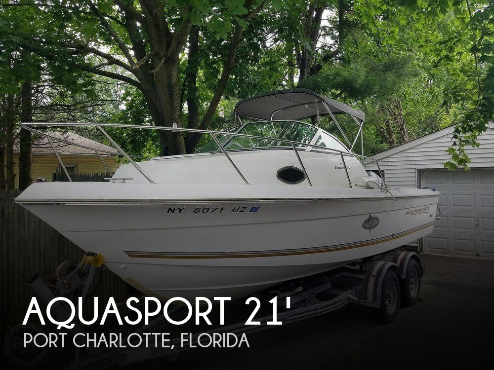 Used Power boats For Sale by owner | 2002 Aquasport 21