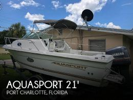 2002 Aquasport 215 Explorer Tournament Master