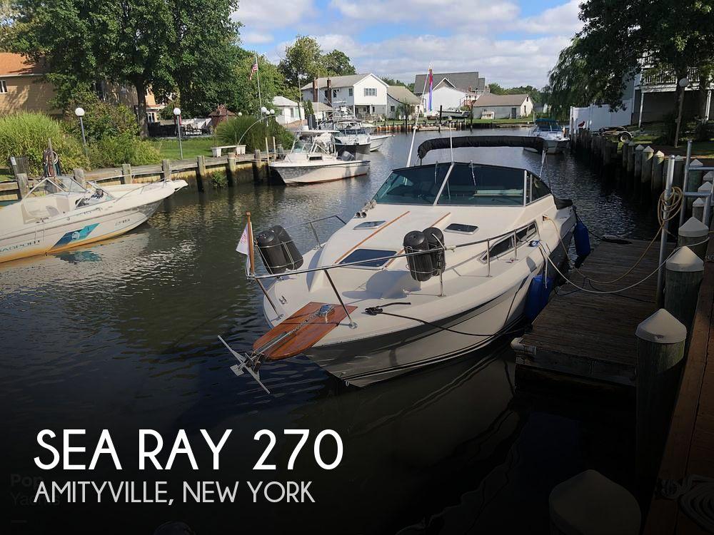 1986 Sea Ray 26
