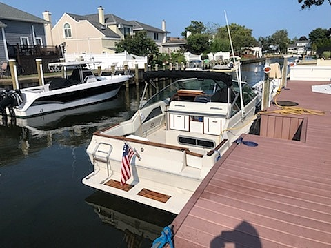 1986 Sea Ray boat for sale, model of the boat is 270 Sundancer & Image # 4 of 40
