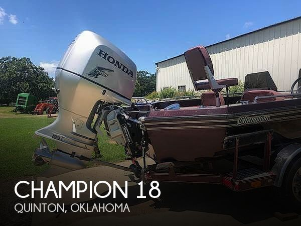 Used Champion Boats For Sale by owner   1989 Champion 18