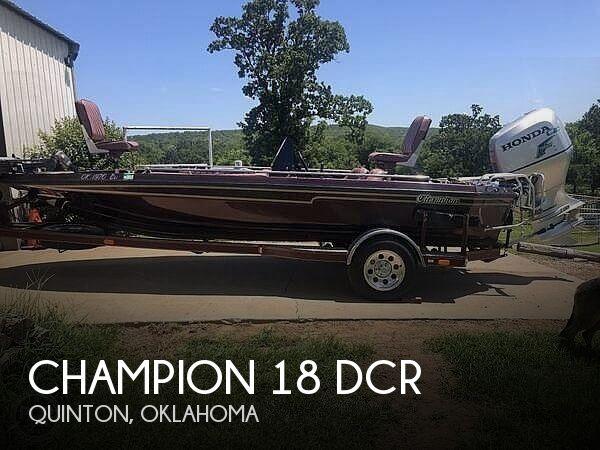 1989 CHAMPION 18 DCR for sale