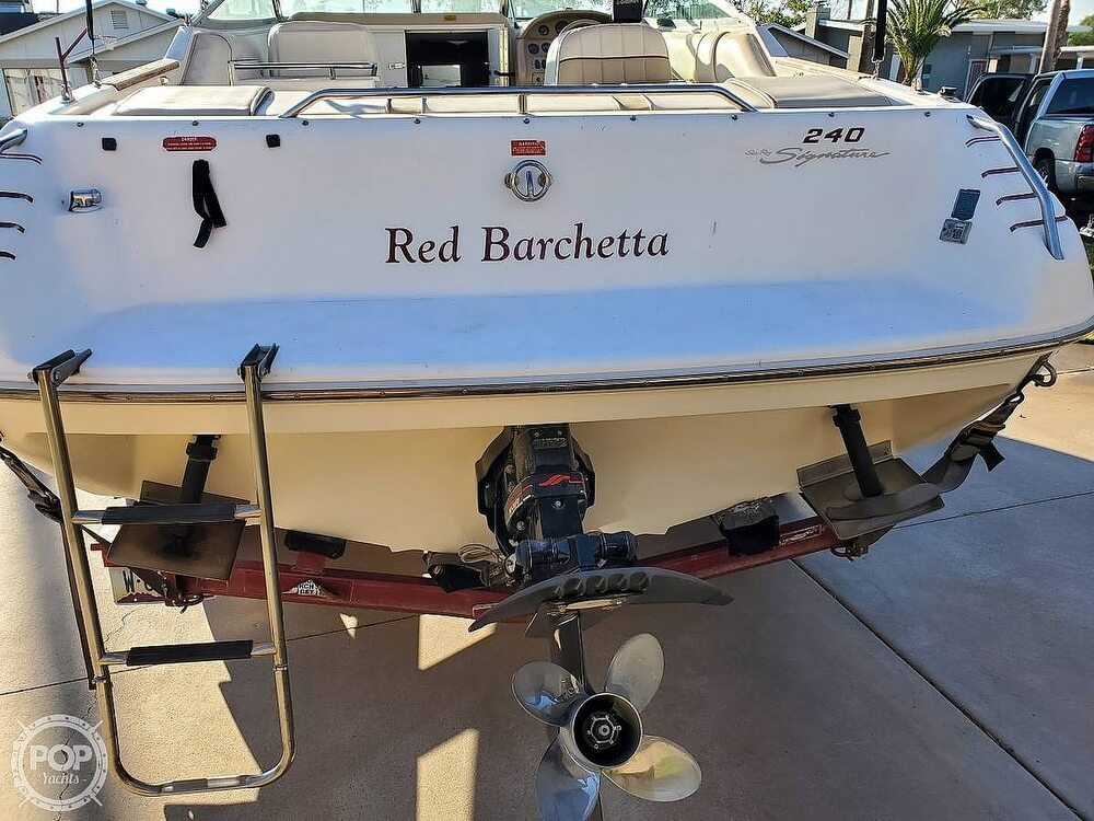 1994 Sea Ray boat for sale, model of the boat is 240 Signature Overnighter & Image # 6 of 40