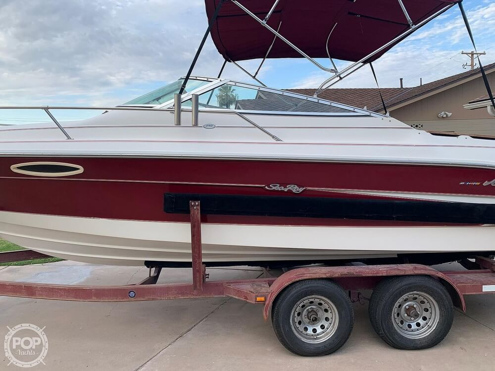 1994 Sea Ray boat for sale, model of the boat is 240 Signature Overnighter & Image # 12 of 40